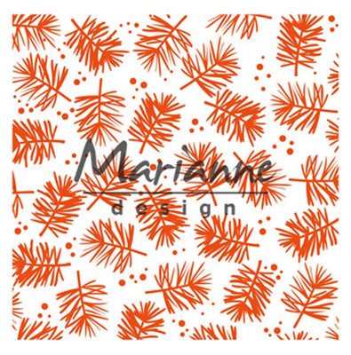 Marianne Design Embossing Folder Pine