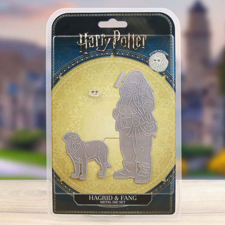 Harry Potter - Hagrid & Fang Die and Face Stamp