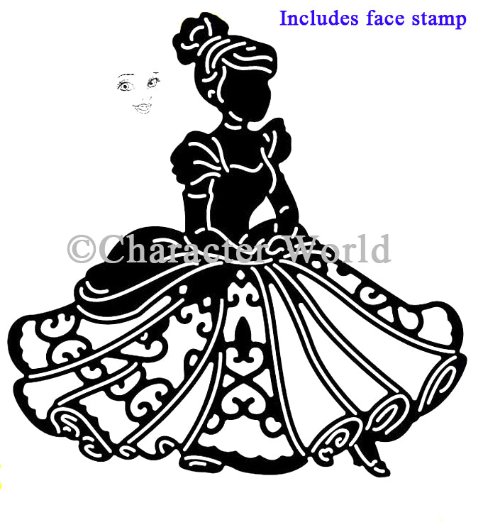 Disney - Princesses - Poised Cinderella Die