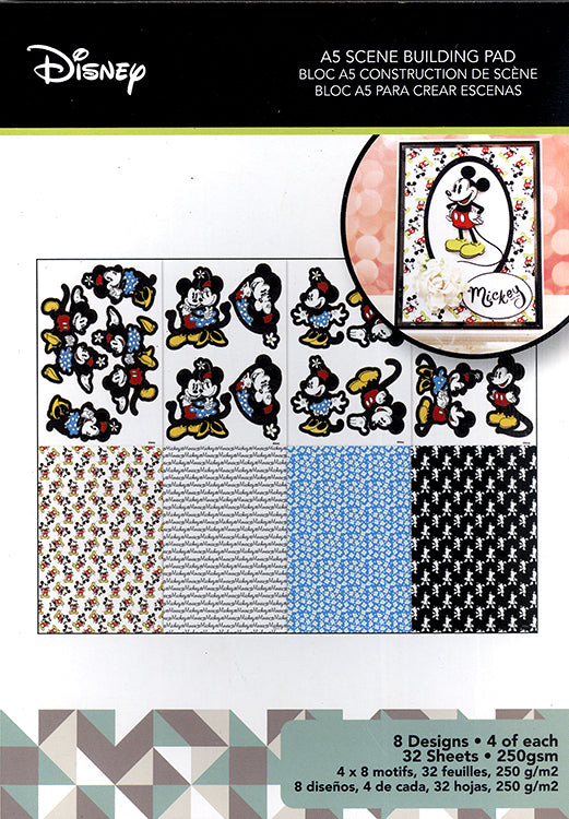 Disney - Mickey and Minnie - A5 Scene Building Pad