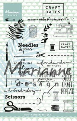 Marianne Design Stamps Craft Dates 2