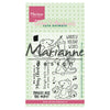 Marianne Design Stamps Eline's Christmas Mice