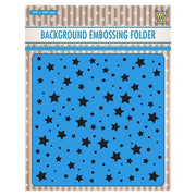 Nellie's Choice Background Embossing Folder - Stars and Dots