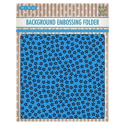 Nellie's Choice Background Embossing Folder - Little Flowers