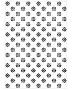 Embossing Folder A4 size - Flowers