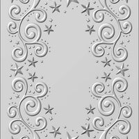 Creative Expressions - Embossing Folder - 3D Twinkle Swirls 5 3/4 x 7 1/2