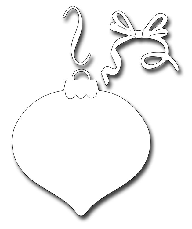 Frantic Stamper Cutting Die - Finial Ornament Background