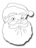 Frantic Stamper Cutting Die - Jolly Santa Face