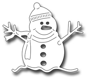 Frantic Stamper Cutting Die - Oliver The Snowman
