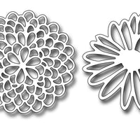 Frantic Stamper Cutting Die - Lacey Blooms One