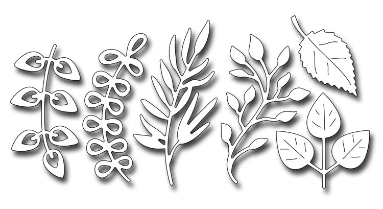 Frantic Stamper Cutting Die - Assorted Foliage