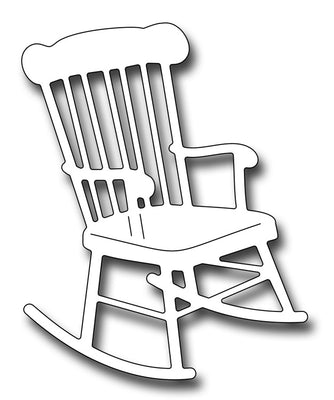 Frantic Stamper Cutting Die - Rocking Chair