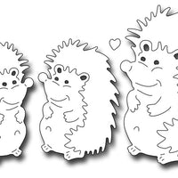 Frantic Stamper Cutting Die - Mom And Baby Hedgehogs