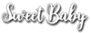 Frantic Stamper Cutting Die - Brush Script Sweet Baby