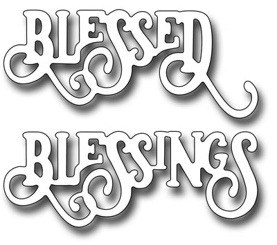 Frantic Stamper Cutting Die - Elegant Blessings