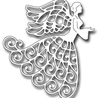 Frantic Stamper Cutting Die - Lace Angel