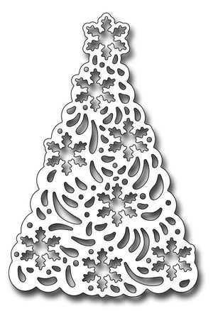 Frantic Stamper Cutting Die - Snowflake Christmas Tree