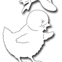 Frantic Stamper Cutting Die - Vintage Chick