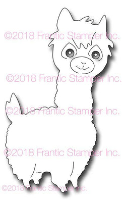 Frantic Stamper Cutting Die - Lorenzo the Llama
