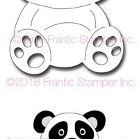 Frantic Stamper Cutting Die - Ping the Panda