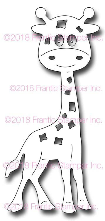 Frantic Stamper Cutting Die - Gladys the Giraffe