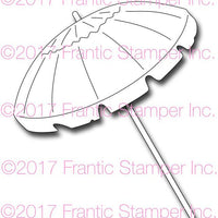 Frantic Stamper Cutting Die - Large Beach Umbrella