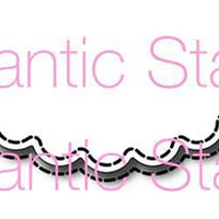Frantic Stamper Cutting Die - Large Scalloped Scallop Edger