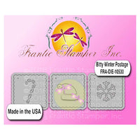 Frantic Stamper Cutting Die - Bitty Winter Postage