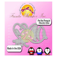 Frantic Stamper Cutting Die - Pat The Penguin