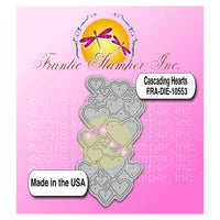 Frantic Stamper Cutting Die - Cascading Hearts