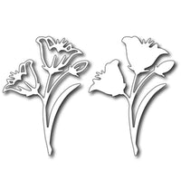 Frantic Stamper Cutting Die - Easter Lily (set of 2)