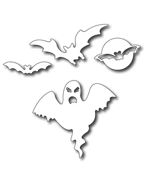 Frantic Stamper Cutting Die - Bats & Ghost