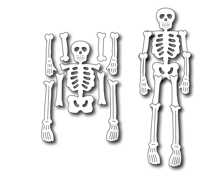 Frantic Stamper Cutting Die - Dem Bones Skeleton