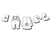 Frantic Stamper Cutting Die - Santa's Suit (set of 5 dies)