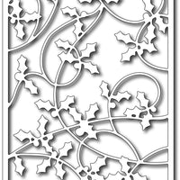 Frantic Stamper Cutting Die - Holly Card Panel
