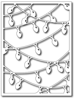 Frantic Stamper Cutting Die - Christmas Light Card Panel