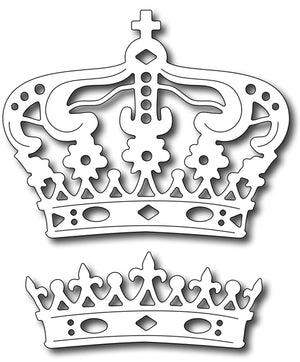 Frantic Stamper Cutting Die - Majestic Crowns (set  of 2)