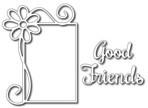 Frantic Stamper Cutting Die - Good Friends Daisy Frame (set of 3 dies)