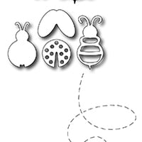 Frantic Stamper Cutting Die - Ladybug and Bee (5)