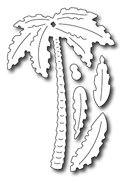 Frantic Stamper Cutting Die - Tall Palm Tree w/ Fronds (set of 5 dies)