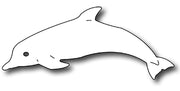 Frantic Stamper Cutting Die - Bottlenose Dolphin