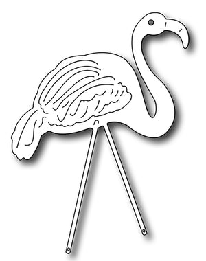 Frantic Stamper Cutting Die - Lawn Flamingo