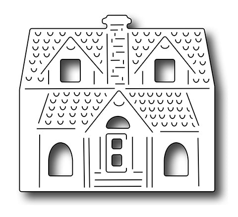 Frantic Stamper Cutting Die - Village Mansion