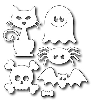 Frantic Stamper Cutting Die - Cute Halloween Icons