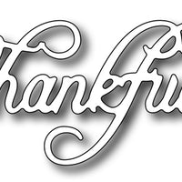 Frantic Stamper Cutting Die - Thankful
