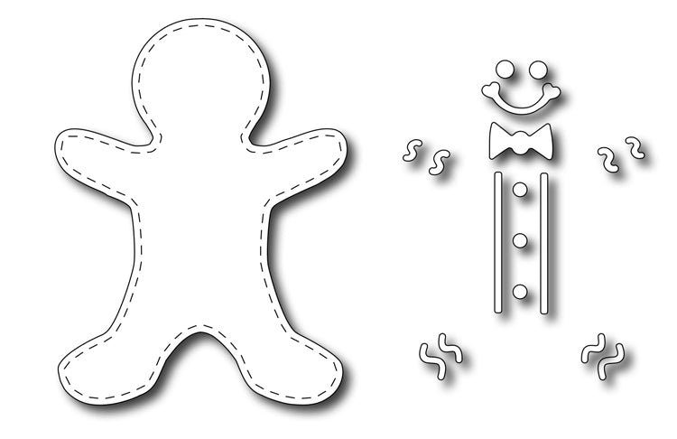 Frantic Stamper Cutting Die - Gingerbread Boy