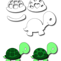 Frantic Stamper Cutting Die - Baby Turtle