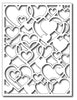 Frantic Stamper Cutting Die - Open Hearts Card Panel