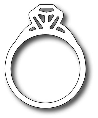 Frantic Stamper Cutting Die - Engagement Ring