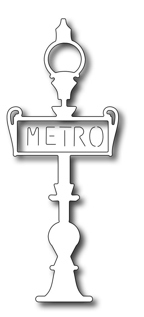 Frantic Stamper Cutting Die - Metro Sign